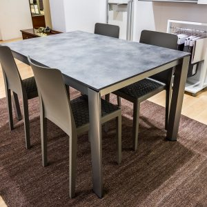 CALLIGARIS Tavolo DUCA + 4 sedie MS4 – Vallatinnocenti